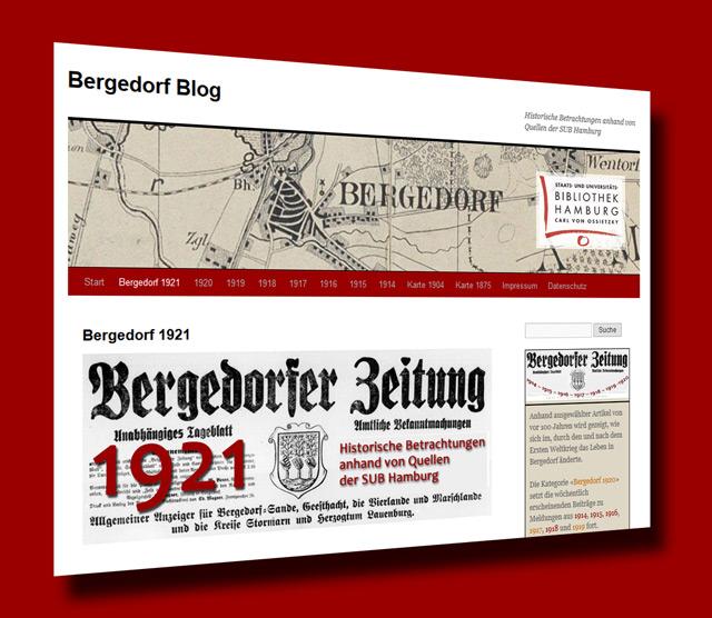Bergedorf-Blog 1921