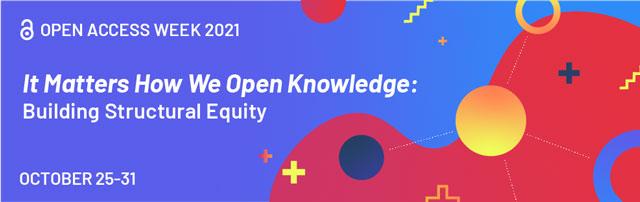Banner der Open-Access-Woche 2021