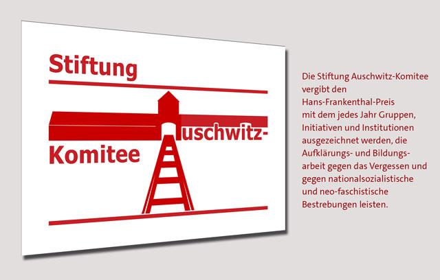 Hans Frankenthal-Preis der Stiftung Auschwitz-Komitee